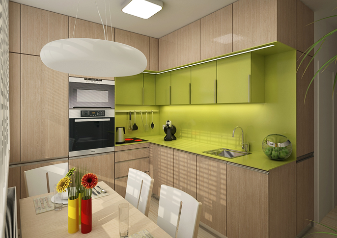 2d9b12ee80bd Rekonstrukce panelákové kuchyně