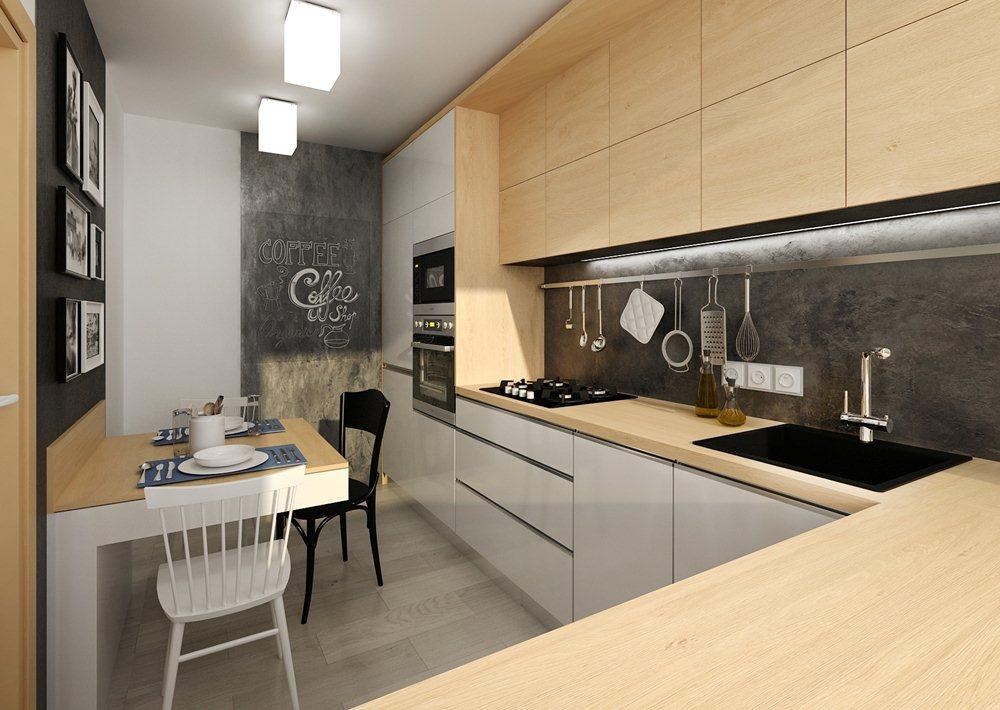 5367a8c21ca8 Rekonstrukce panelákové kuchyně