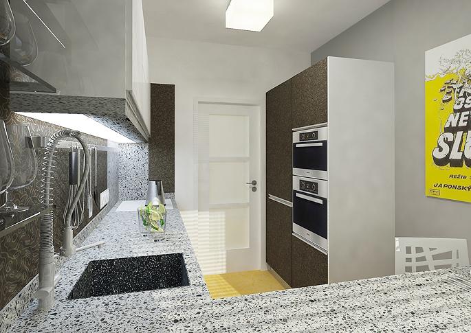 Malý byt v panelovém domě